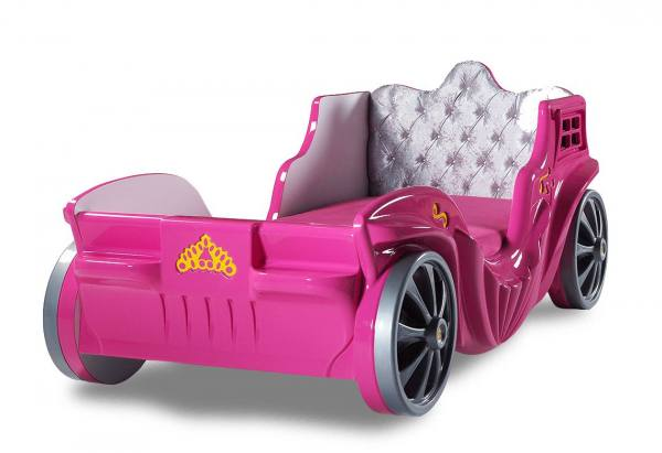 Carriage Kutschenbett PRINCESS in pink
