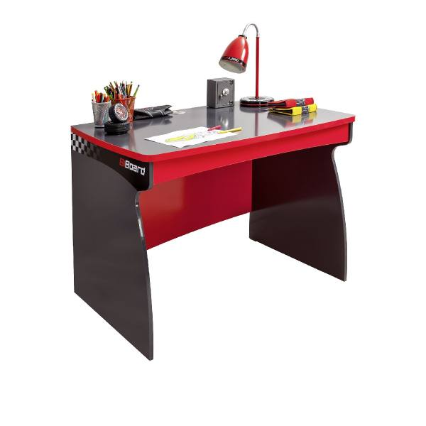 Kinder Schreibtisch RACER rot