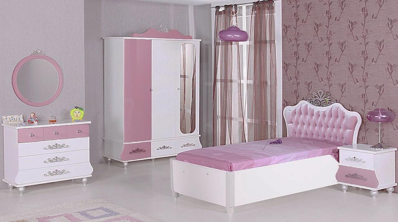 Kinderzimmer Komplett Anastasia 5 Rosa Sparset 5 Tlg Traum Mobel Com