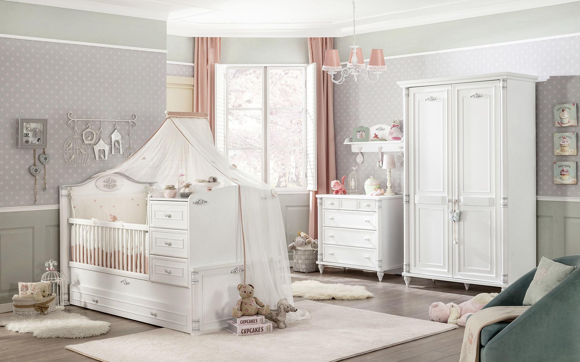Sparset Komplettzimmer 5 Tlg Babyamore Traum Mobel Com