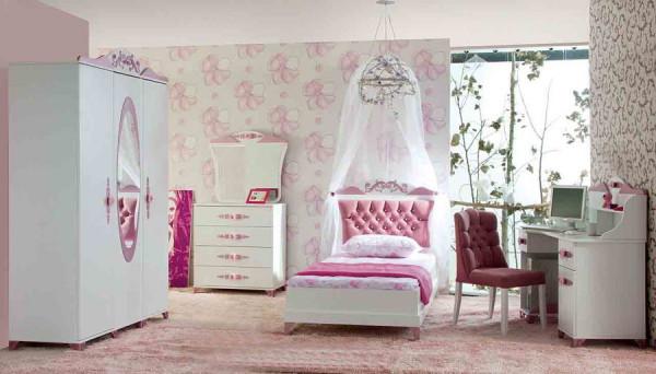 Sparset Komplettzimmer Pretty pink