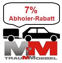 7% Abholerrabatt bei TrauMMöbel.com