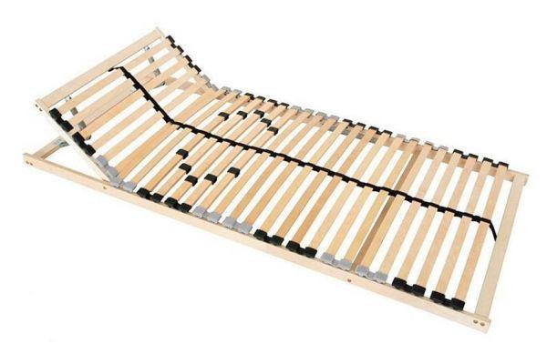 7-Zonen Lattenrost 90x200cm ERGO mit Kopfverstellung und Härtegrad