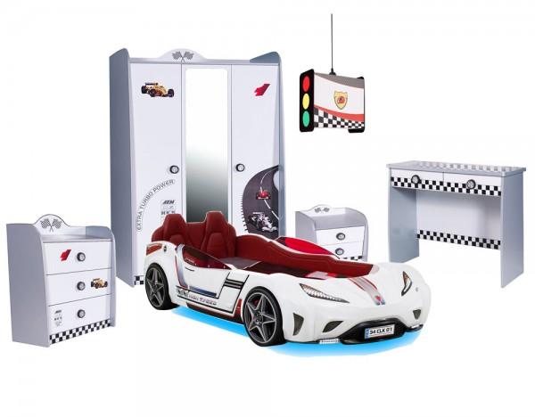 Autobettzimmer-weiß-5-teilg-mit-GTS-und-Turbo