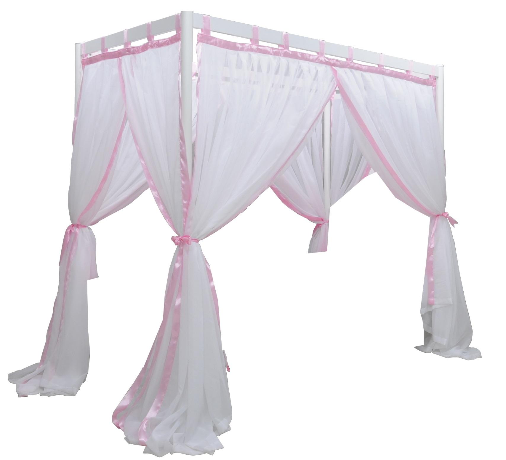 Himmelbett vorhang kinder  Vorhang