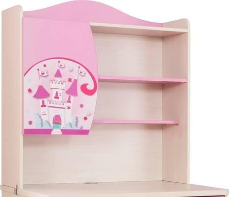 Aufsatz für Schreibtisch PRINCESS in pink