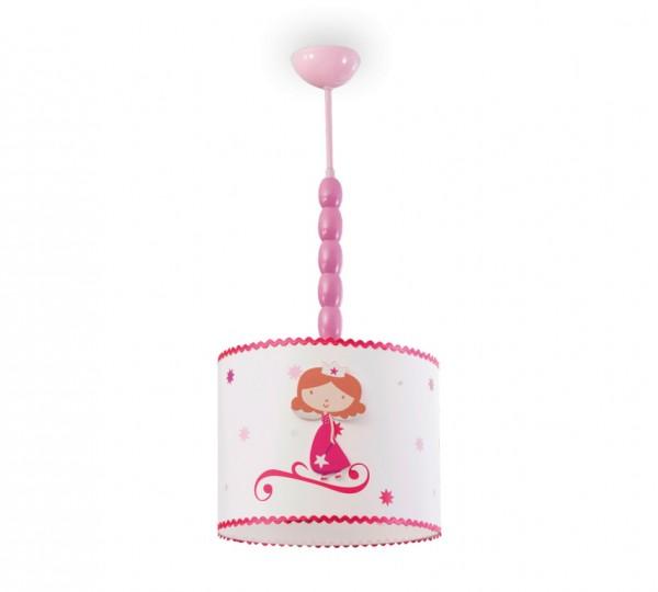 Hängeleuchte Princess in pink