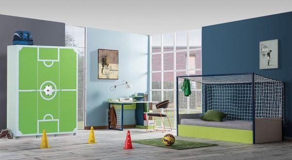 SPAR-SET Kinderzimmer FUßBALL, 3 teilig