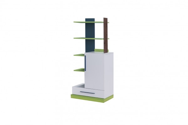 Bücherregal FUSSBALL grün