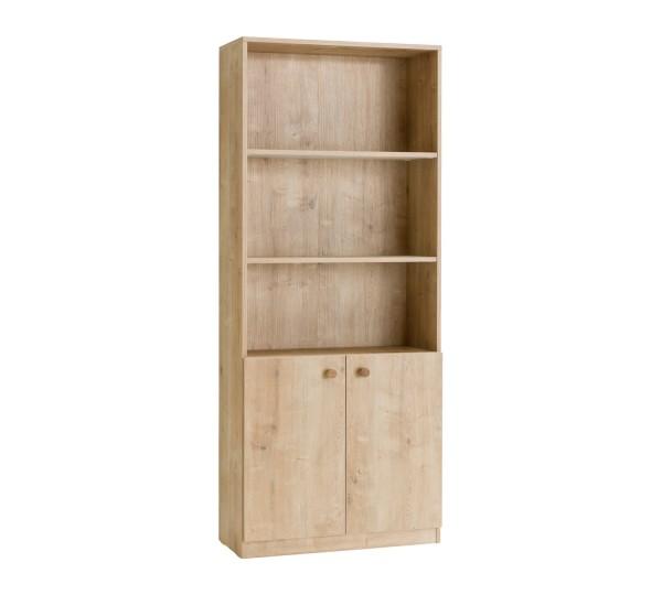 MOCHA Bücherregal natur Holzoptik