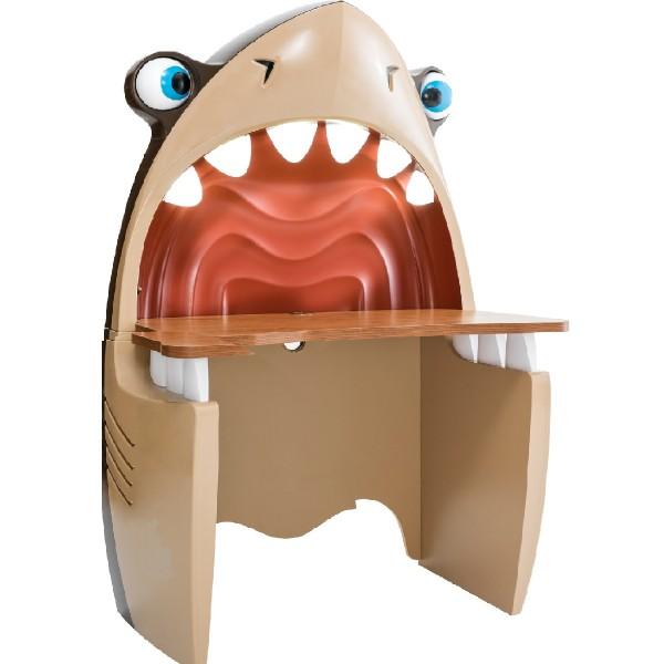 Hai Schreibtisch mit Licht - Frontansicht
