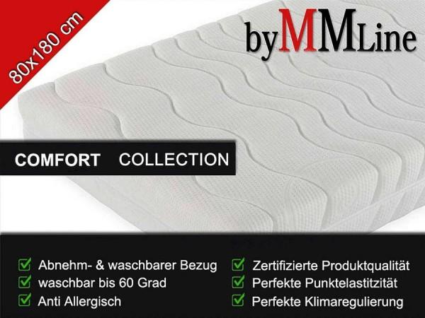 Kaltschaum Matratze 5-Zonen SLEEP BABY, 80x180cm