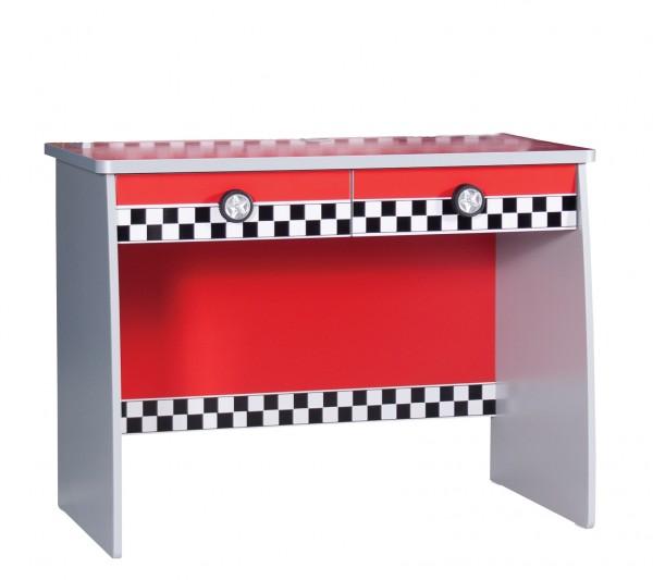 Schreibtisch TURBO rot